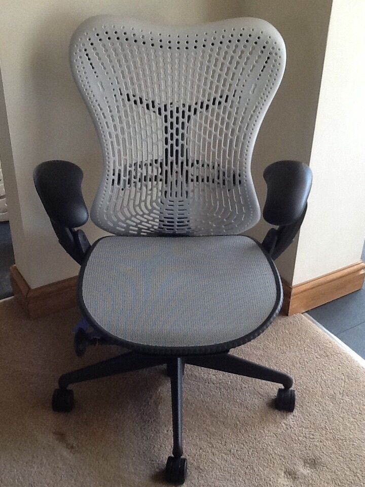 herman miller mirra chair fully adjustable with lumber support