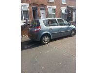 renault scenic 1.6 petrol 12 month's mot need gone