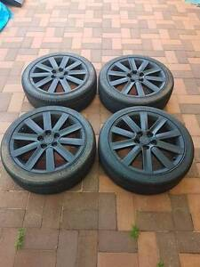 """18"""" rims with tyres Malaga Swan Area Preview"""