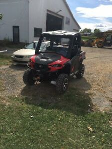 Side by side cub cadet  polaris bombardier honda cat rzr brp