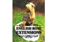 Hair Extensions in City centre: *English Rose Extensions* Micro Rings, easilocks 100% Human hair