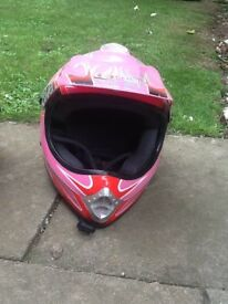 Children's motocross/off-road helmets