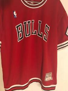 Chicago Bulls Mitchell & Ness Authentic 1989 Shooting Shirt L