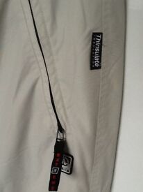 MENS LARGE THINSULATE SKI PANTS AS NEW SIZE LARGE