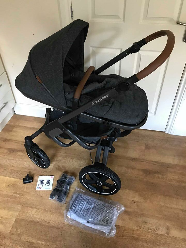 maxi cosi nova pram pushchair in sparkling grey last chance before returning in keighley. Black Bedroom Furniture Sets. Home Design Ideas
