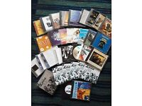 COMPILATION & SOUND TRACK CD music collection of 34 CDs