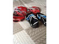 Beach Shoes size 13, Swim Arm Bands & Sunglasses