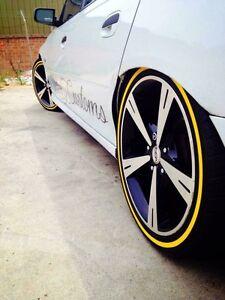 18inch Holden cv8 rims wheels alloys mags tyres gm Gisborne Macedon Ranges Preview