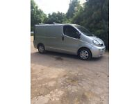 2005 Vauxhall Vivaro Sportive 1.9TD 6 Speed Manual SWB Silver Panel Van, Long MOT