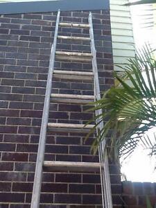 Aluminium Extension Ladder (Industrial Quality) Hamilton Newcastle Area Preview