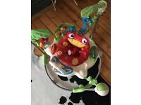 Fisher Price Jungle Rainforest Jumperoo baby bouncer