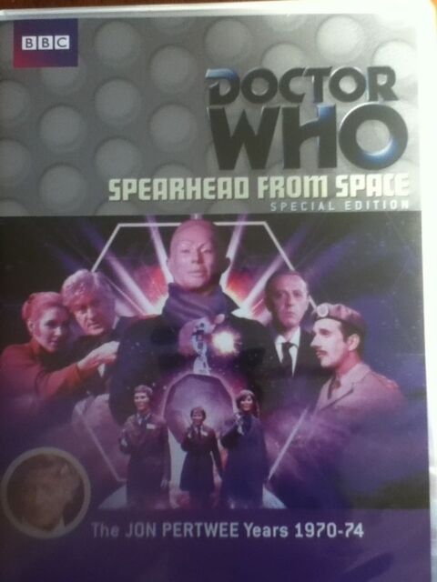New DOCTOR WHO SPEARHEAD FROM SPACE Dvd Special Edition R4 Autons Jon Pertwee