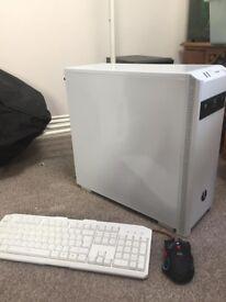 Gaming PC Computer Setup