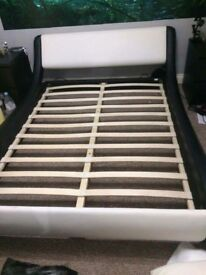 Double bed frame for quick sale