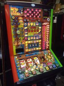 Kung Fu Pounda - Latest £100 Jackpot Pub Fruit Machine - Fully Working - Free Local Delivery