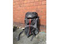 Highlander 65L Backpack with Rain Shield