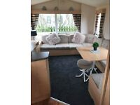8 berth caravan for hire at craigtara, ayr