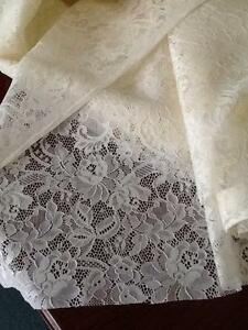 Lace curtain fabric Bedford Bayswater Area Preview