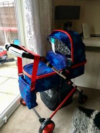 Cossatto Wish Travel System With ISOFIX Base