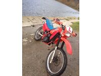Honda mtx very clean and fast bike for her age