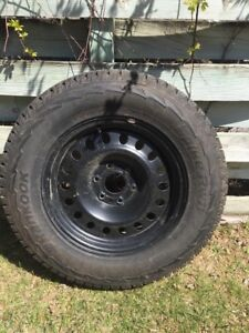 2015 GMC truck tires on rims