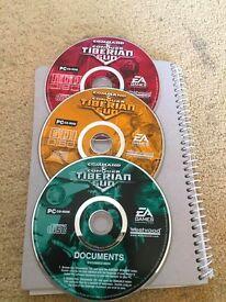 Command Conquer Tiberian Sun - 3 Disc Set - PC CD ROM