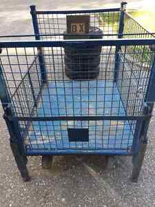 Steel Cage Cart