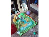 Fisherprice Forest musical baby gym playmat