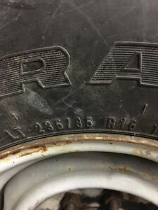 Selling set of Lt235/85r16 plus spare