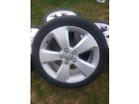 "17"" GENUINE AUDI A3 ALLOY WHEELS 8V 8P S LINE SPORT BACK 5x112 A4 VW GOLF SEAT"