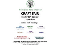 Craft Fair 30th October