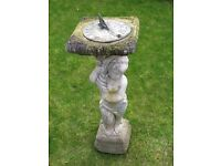 SUNDIAL. Ornamental garden statue.