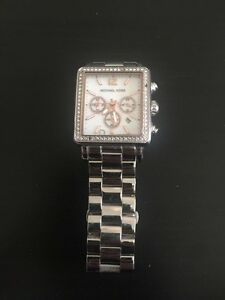 MICHAEL KORS WATCH - silver & rose gold