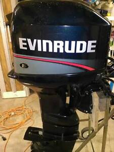 Evinrude Long Shaft  35 HP Out Board Swansea Lake Macquarie Area Preview