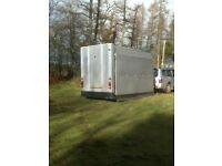 Mobile security gate trailer unit deploying to 31ft in 30 seconds ideal for construction site