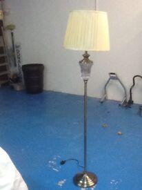 Brass floor lamp as new