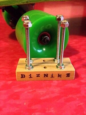 Biznikz Skateboard Longboard Deck Display Wall Mount Skate (2 pc. set) Hanger