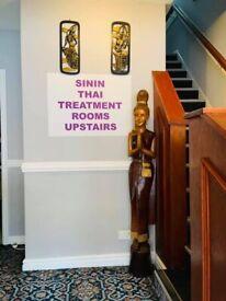 Sinin Thai massage in Nottingham City Centre