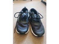 Nike Air Max Thea - Ladies Size 4 - Black & White