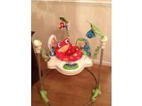 * Fisher Price Rainforest Jumperoo * Excellent Condition