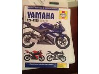 Yamaha yzf r 125 manual new never seen oily fingers