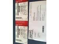 Depeche Mode Tickets. London 3rd June 2017