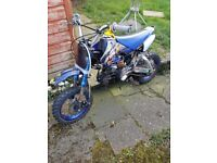 pit bike parts or repair needs fixed