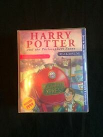 Harry Potter and The Philosopher's Stone - Cassette Tape Audio Book (Read by Stephen Fry)