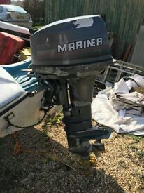 40hp outboard 40ELO6E9 L, electric start, auto mix + Hull + Trailer , Speed boat