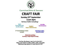 Craft Event @ Carmichael Visitor Centre