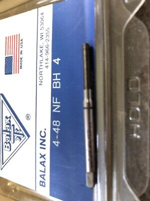 "Balax HSS Thread Forming Tap 13//16""-16UNC Bottoming Chamfer 4 1//2"" OAL New"