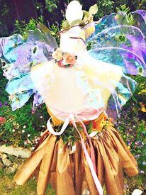 Iridescent Fairy Wings Tinkerbell, Wedding, Fancy Dress