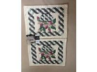 Handcrafted Patchwork Pillowcases (shams).