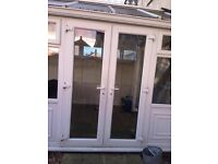 lovely conservatory clean condition. Buyer to dismantle. measurements 13.91ft long 8.33ft wide.